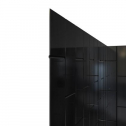 DreamLine SHBW156076088 QWALL-VS Collection Acrylic Shower Backwall Kit in Black